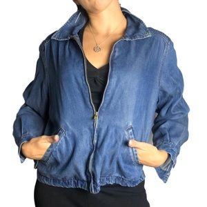 Nordstrom Vintage Tencel Denim Jacket